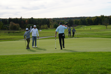 2019 Fall Scramble Ends in Exciting Playoff Battle,  All 36 Teams Finish Under Par