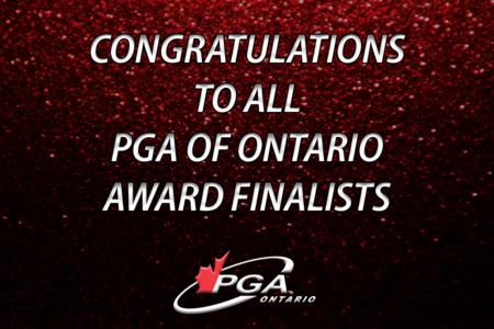 Congratulations to all PGA of Ontario Award Finalists
