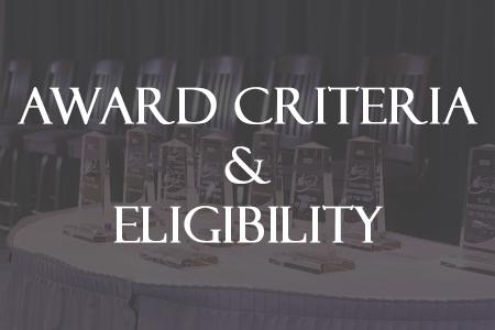 Award Criteria and Eligibility