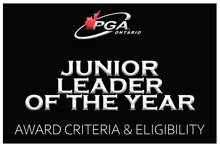 Junior Leader of the Year