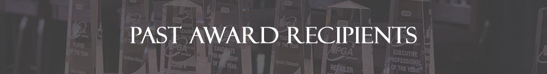 Past Award Recipients