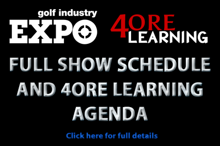 Full Show Schedule and 4ore Learning Agenda