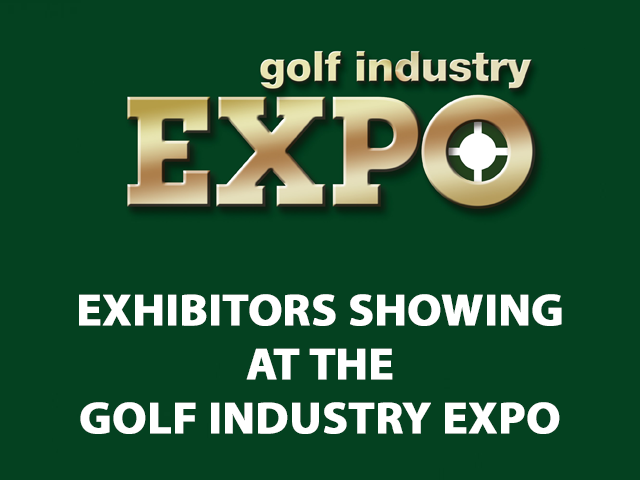 Exhibitors Showing at the Golf Industry Expo