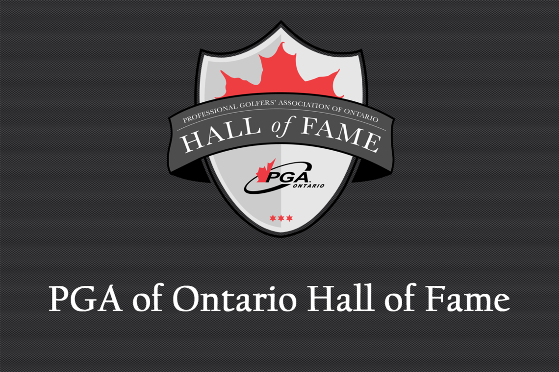 Announcing the PGA of Ontario Hall of Fame
