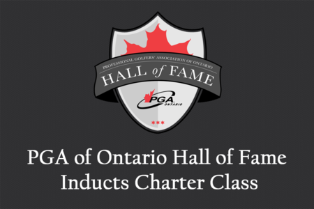 Announcing the PGA of Ontario Hall of Fame Charter Class