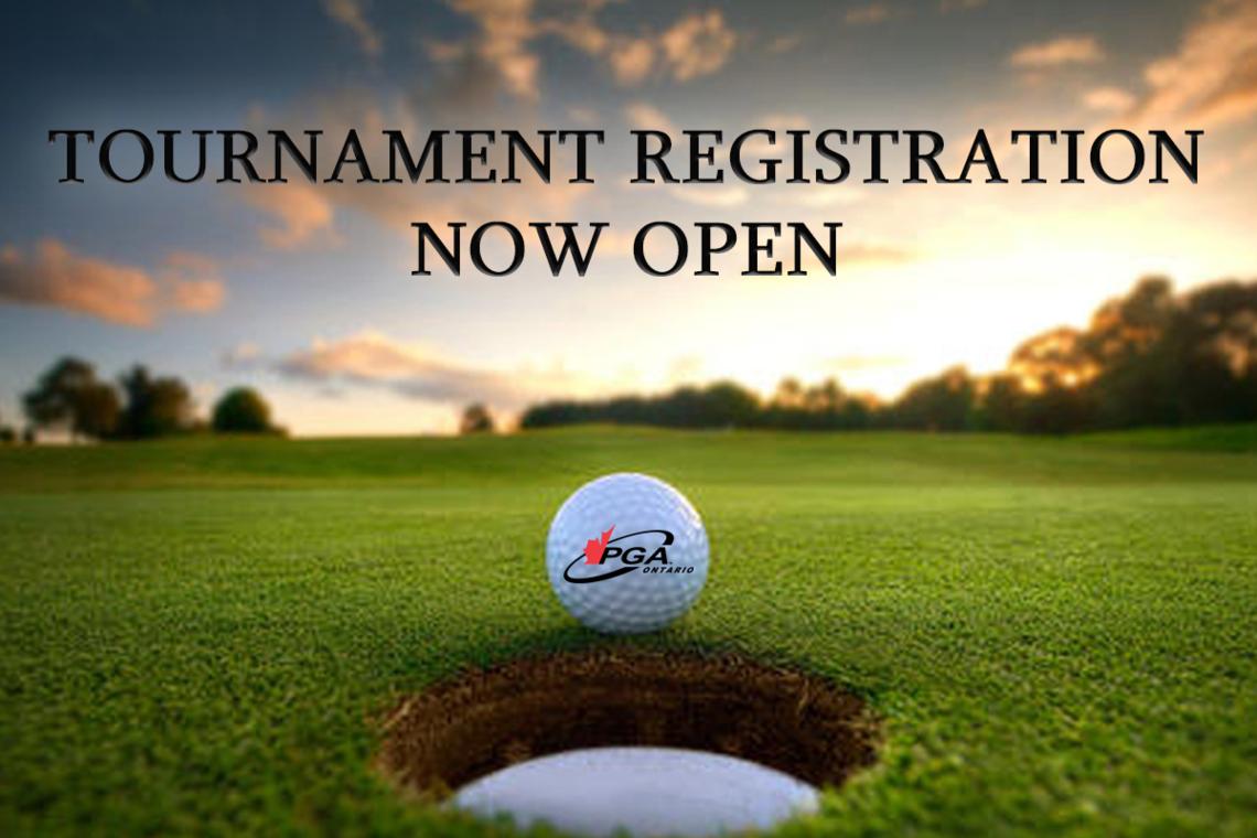 PGA of Ontario Tournament Program Update