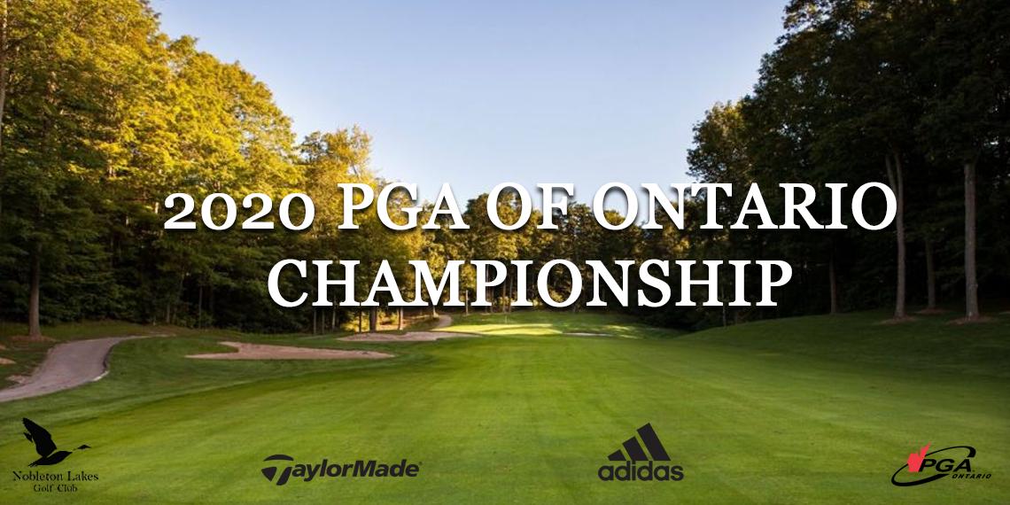 PGA of Ontario Championship Header