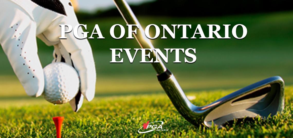 PGA OF ONTARIO EVENTS