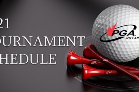 2021 PGA of Ontario Tournament Schedule