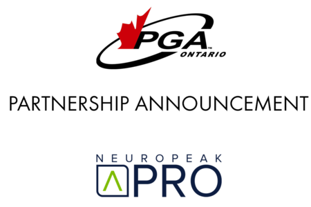 PGA of Canada - Ontario Zone Announces New Partnership with Neuropeak Pro
