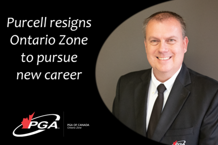 Purcell resigns Ontario Zone to pursue new career