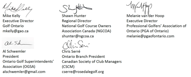 We are Golf signatures
