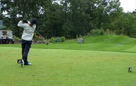 Kris Tamulis First Round Leader at Soggy CPGA Women's Championship presented by NIKE Golf
