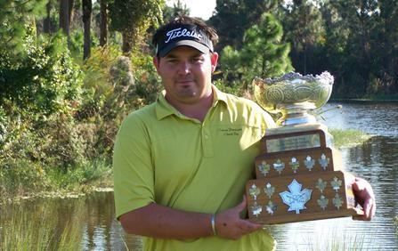 Eric Landreville goes Wire-to-Wire to win the 2007 Canadian PGA CPC