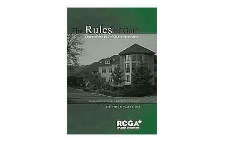 Canadian PGA and RCGA to Combine Forces in Rules of Golf