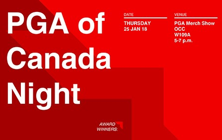 Celebrate PGA of Canada Night