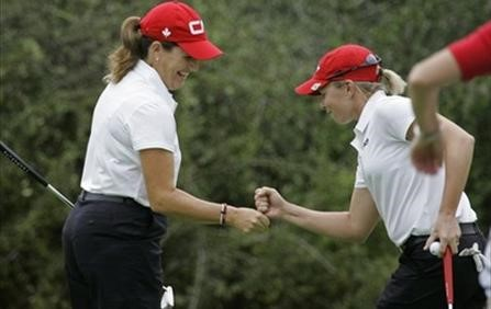 Canadian Duo Lorie Kane and Alena Sharp Place 6th at the Women's World Cup of Golf