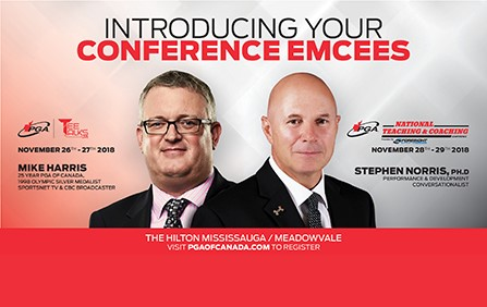 PGA of Canada National Conference Emcees Announced