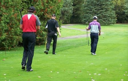 Local Favourite Eric Couture leads by two going into the Final Round of CPGA Assistants' Championshi