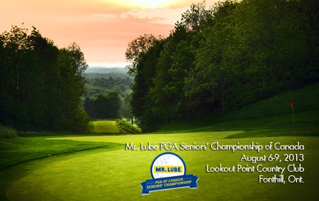 Mr. Lube PGA Seniors' Championship of Canada heads to Lookout Point