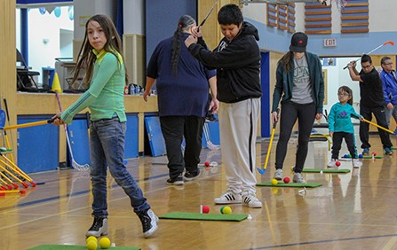 Junior golf takes major strides in Canadian indigenous communities
