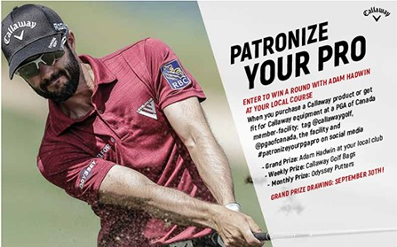 Patronize Your PGA Pro