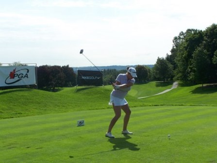 Shepley's Scorching Course Record 66 Leads the Field heading into Final Round