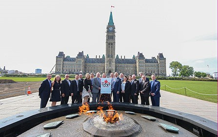 Golf industry celebrates National Golf Day on Parliament Hill