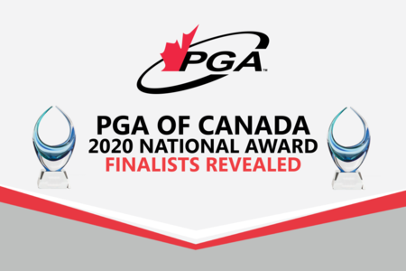 PGA of Canada National Award Finalists Revealed