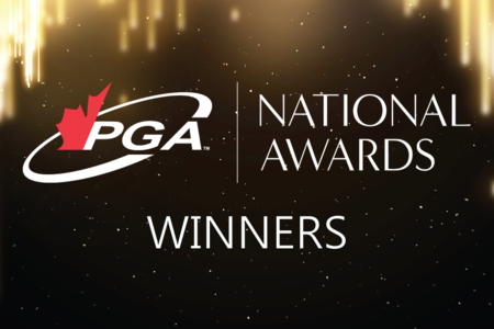 Announcing the 2020 PGA of Canada National Award Winners