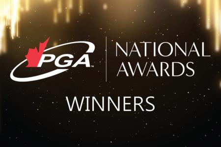 Announcing the 2020 PGA of Canada National Award Winners