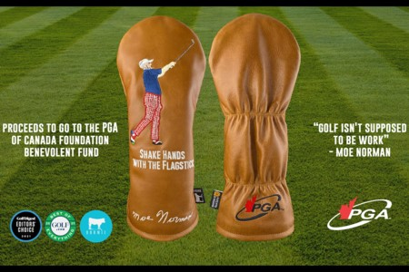Dormie and PGA of Canada selling classic Moe Norman Headcover - All Proceeds go towards PGA of Canada Foundation Benevolent Fund
