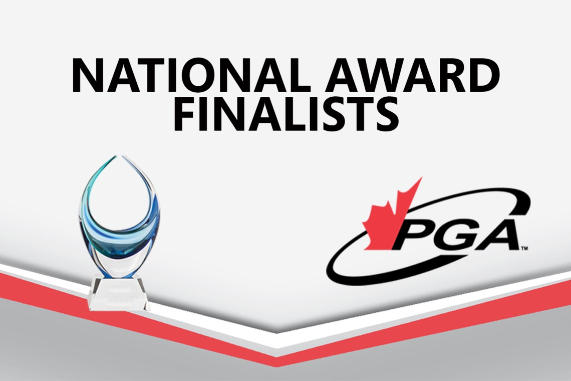 PGA of Canada 2019 National Awards Finalist