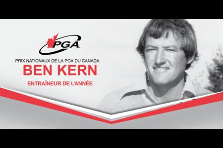 Méritas Ben Kern Entraîneur de l'année