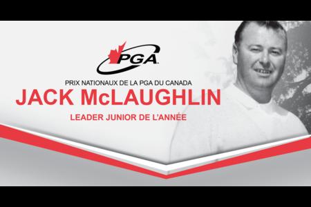 Méritas Jack McLaughlin Leader junior de l'année