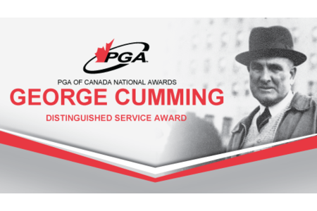 George Cumming Distinguished Service Award