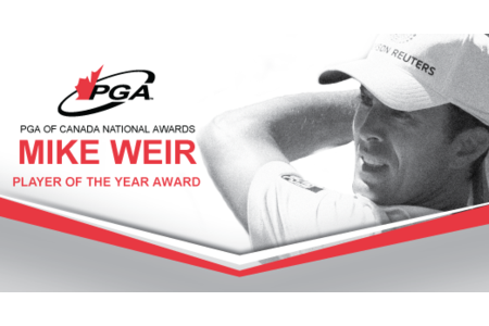 Mike Weir, Player of the Year Award