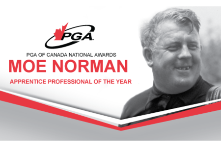 Moe Norman, Apprentice Professional of the Year Award