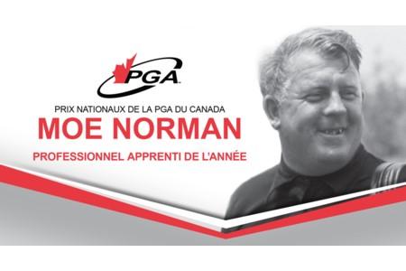 Méritas Moe Norman Professionnel apprenti de l'année