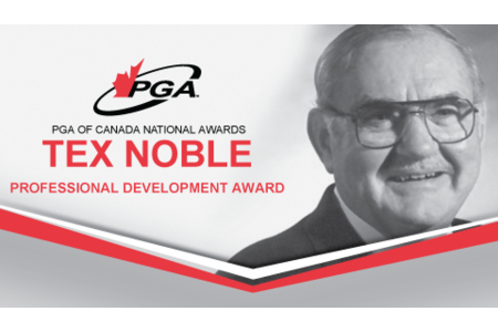 Tex Noble, Professional Development Award