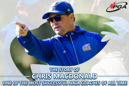 Chris MacDonald's Journey to Becoming One of the most Successful Golf Coaches in the NAIA