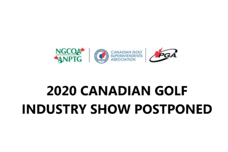 2020 Canadian Golf Industry Show Postponed