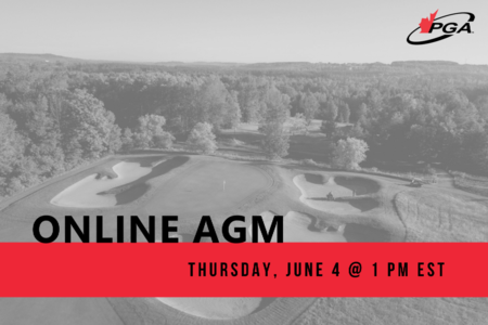 Register Now for PGA of Canada Online AGM