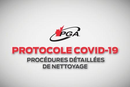 Protocole COVID-19 - PROCÉDURES DE NETTOYAGE DÉTAILLÉES