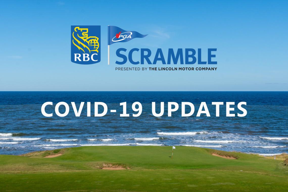 RBC PGA Scramble: COVID-19 Update