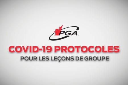 Protocoles COVID-19 pour les leçons de groupe