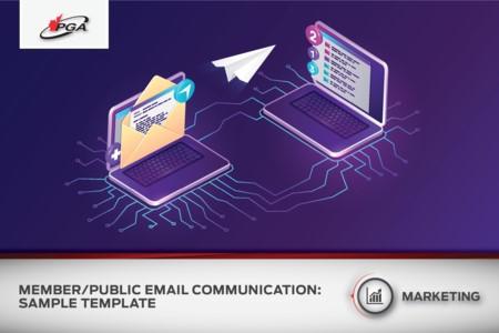 Communication par courriel entre les membres et le public - Modèle d'échantillon