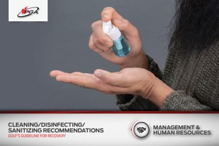 Recommandations de nettoyage/désinfectage/désinfectant
