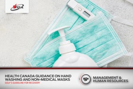 Orientation de Santé Canada sur le lavage des mains et les masques non médicaux