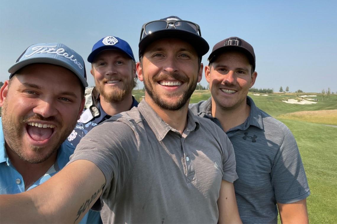 A Golfers Dream: Four friends play four RBC PGA Scramble Local Qualifiers in four days in Alberta